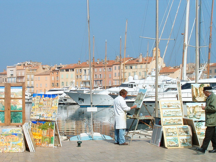 excursion to Saint-Tropez